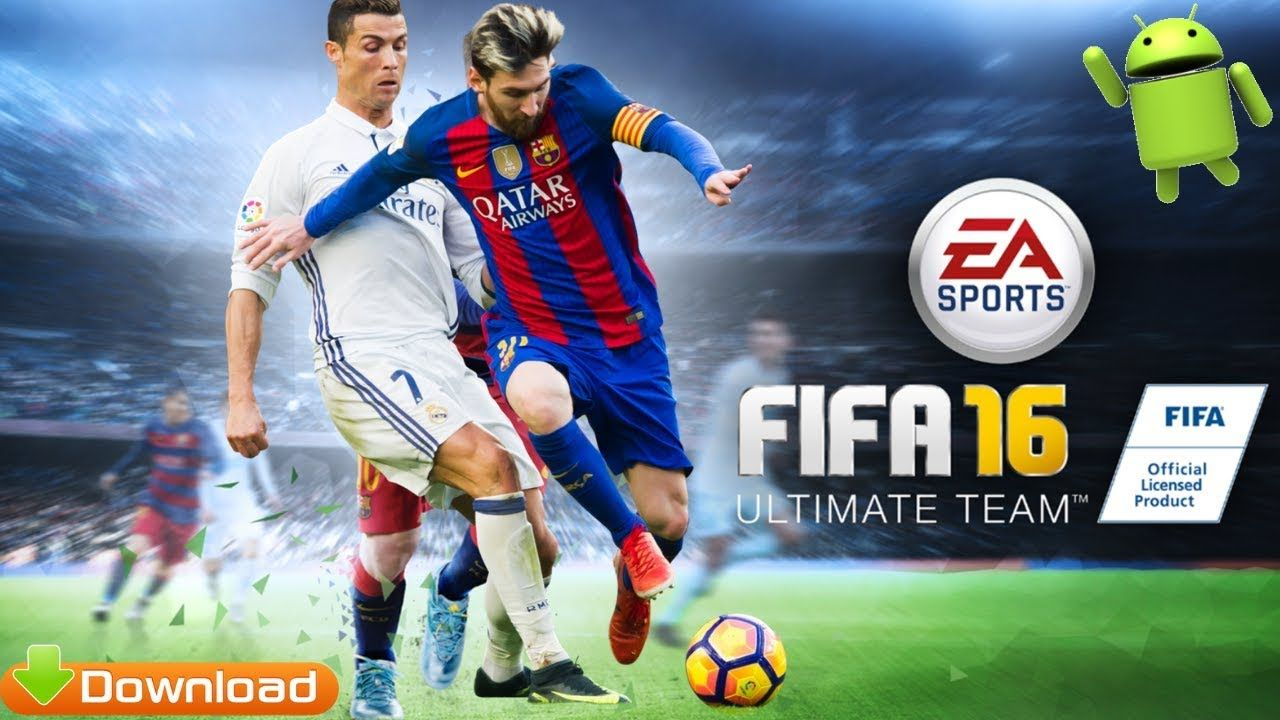 Fifa 16 Offline Android Apk Game Download Download Games Fifa 16 Game Fifa 16
