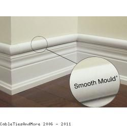 5 Ft Long - Smooth Mould Cable Raceway - (1.22