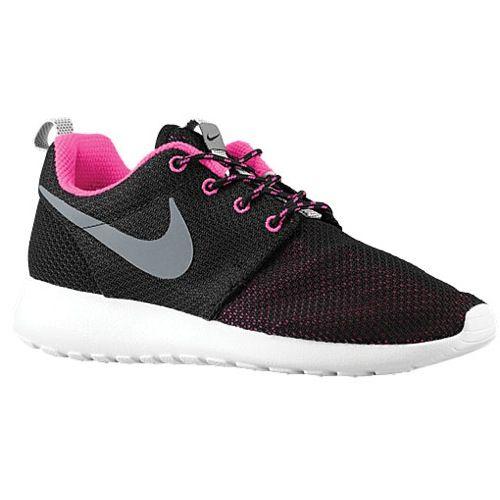 Nike Black & Pink Contrast Sneakers p5EUX0kG