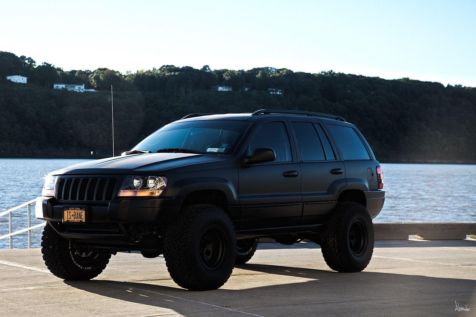 Matte Black Grand Cherokee Customed Jeep Wj Jeep Grand Cherokee