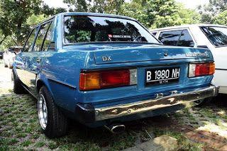 Mobil Sedan Corolla Dx Simbol Kemewahan Di Zamannya Corolla Dx Toyota Corolla Dx Mobil Sedan