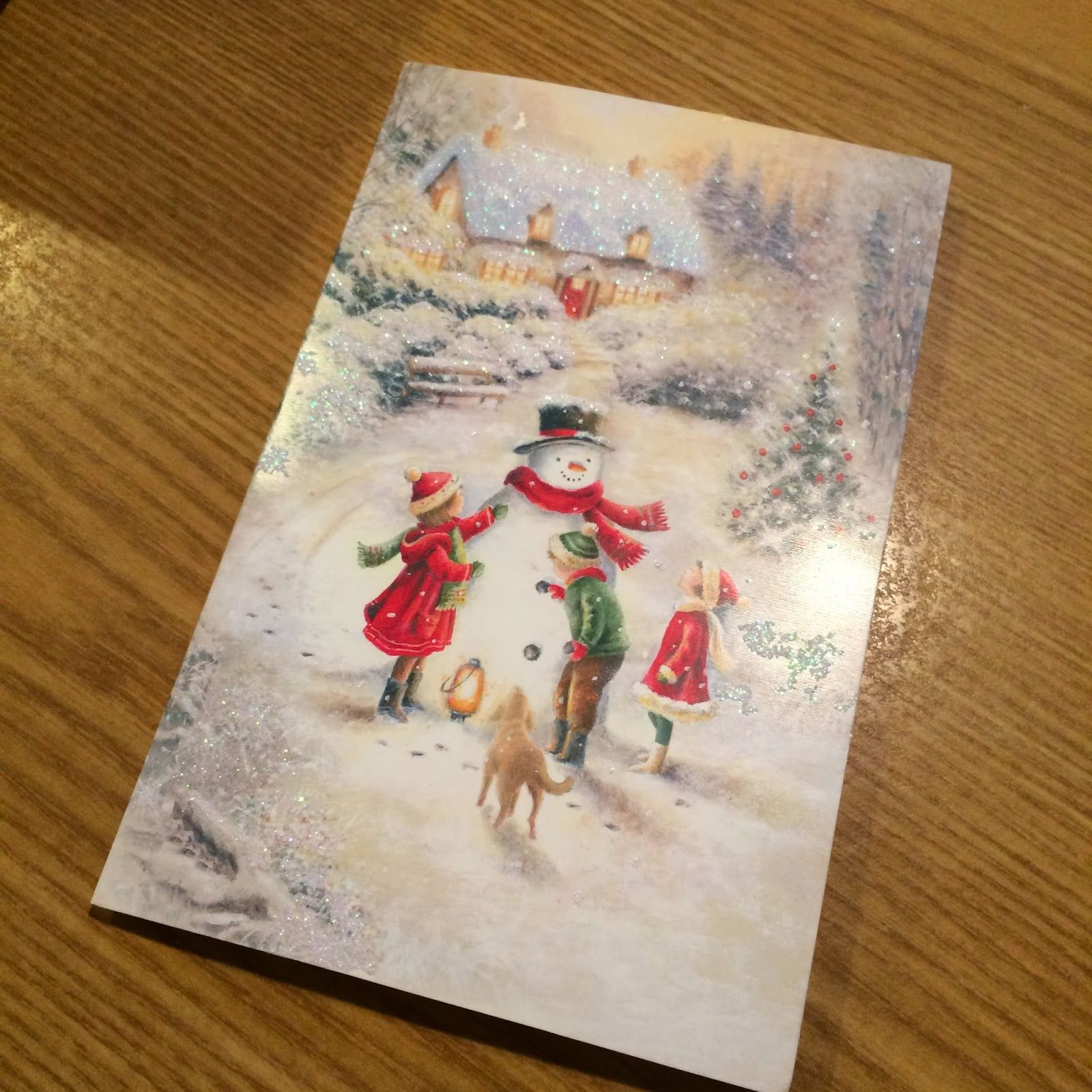 Pumpkin Princess Pudding Pie: What To Do With Old Christmas Cards?