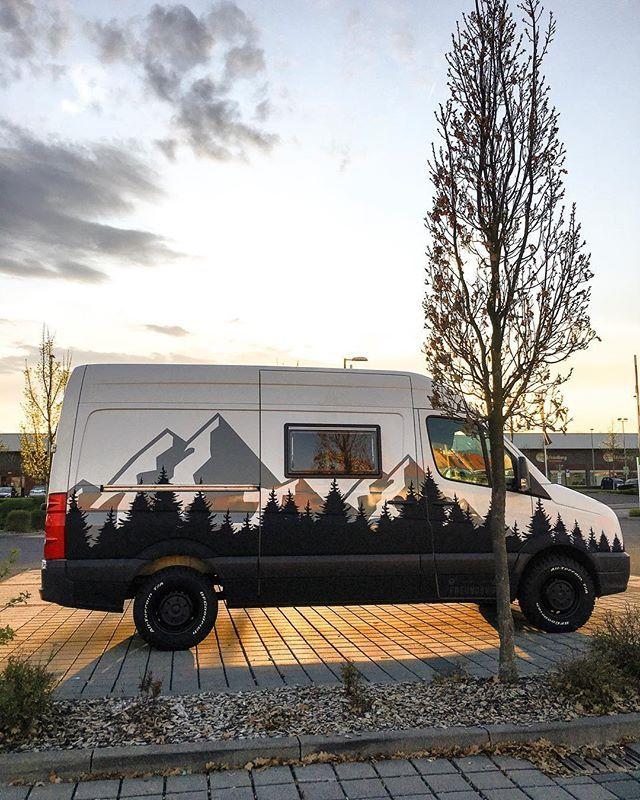 Fahrzeugfolierung von ChriGall auf Wohnmobil in 2020