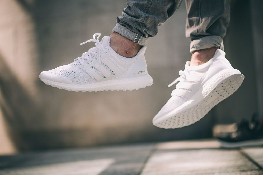 fc32949eef20e Kanye West Hasn t Worn This All-White adidas Ultra Boost Yet