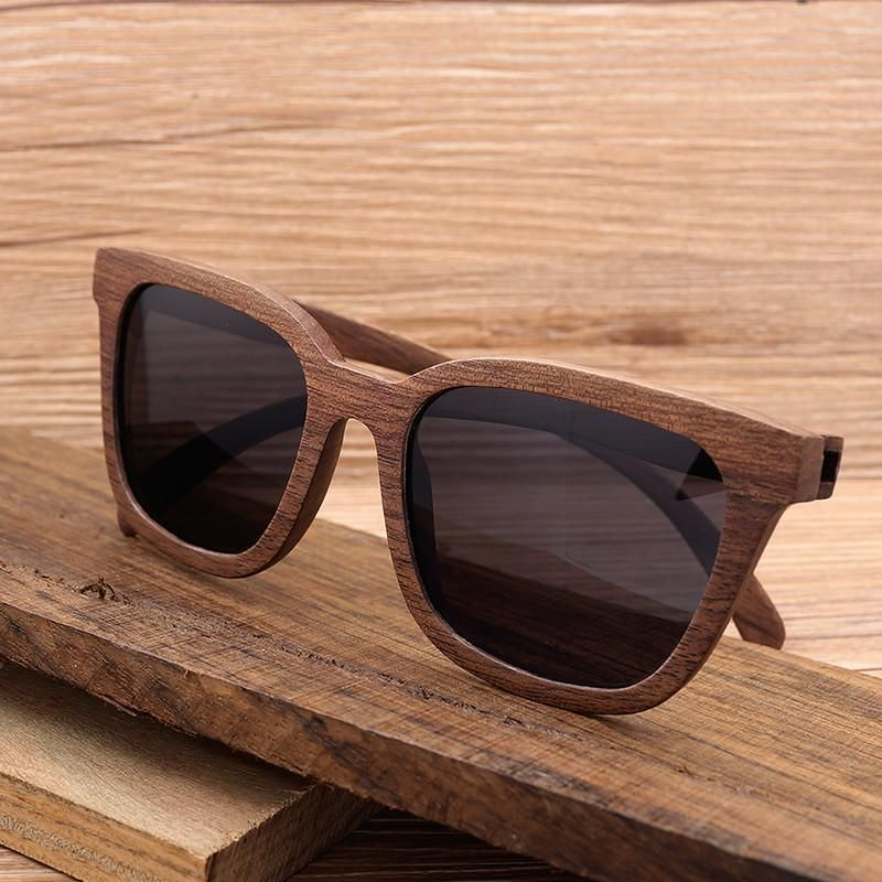 799ed40652e Eyewear Type  Sunglasses Gender  Men   Women Style  Rectangle Frame  Material  Wooden Lenses Material  Polaroid Lenses Optical Attribute  Polarized  Lens ...