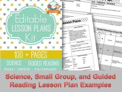 Lesson Plan Template Kindergarten Lesson Plan Templates And Teacher - Printable lesson plan template for preschool