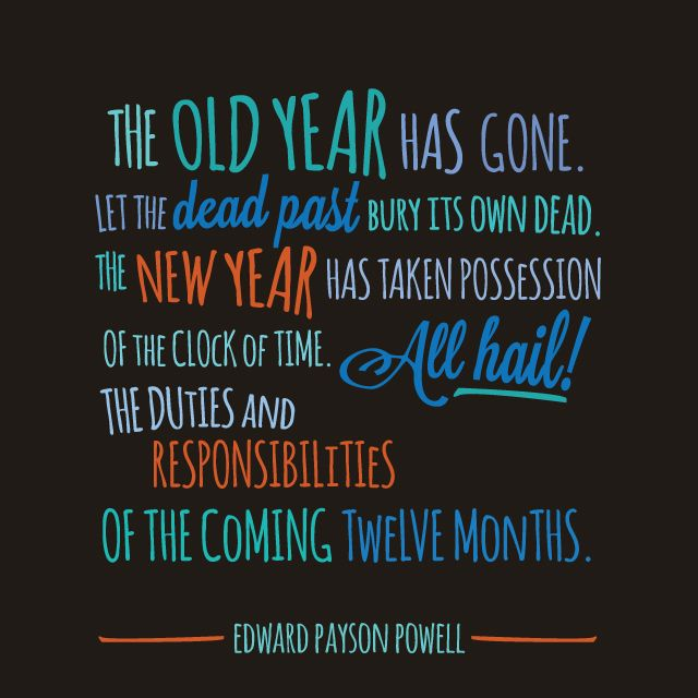 Inspirational Day Quotes: New Year Quotes Change