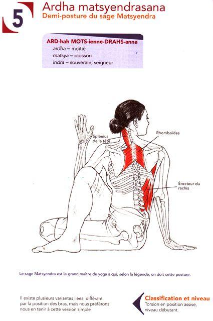 yoga posture de la torsion vertebrale workout. Black Bedroom Furniture Sets. Home Design Ideas