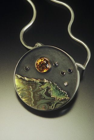 Joan Tenenbaum: Goldsmith, Anthropological Jeweler, Jewelry Teacher
