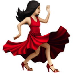 The Woman Dancing Light Skin Tone Emoji On Iemoji Com Light Medium Skin Tone Medium Skin Tone Light Skin Tone