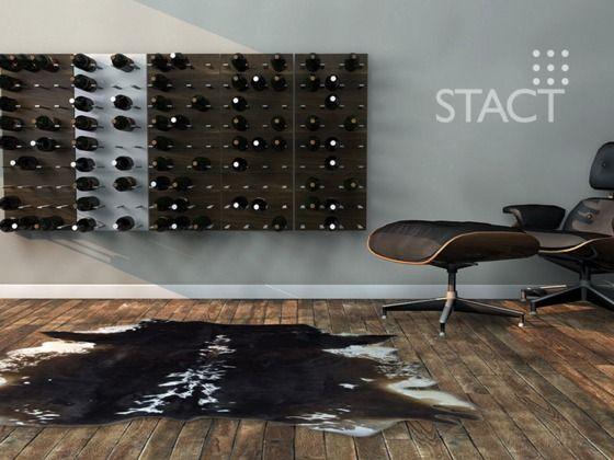 STACT Modular Wine Wall: Wine Storage Beautified