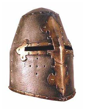 Toy Knight Helmet. Medieval Helmet Replica. Crusader Great ...