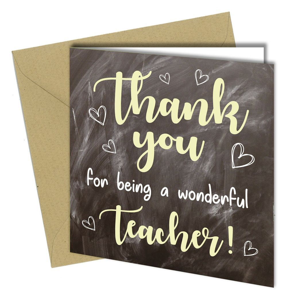 miss you cards for teachers