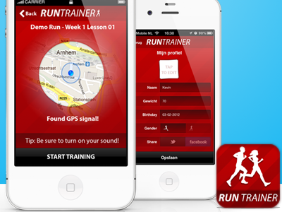 Run Trainer for iOS