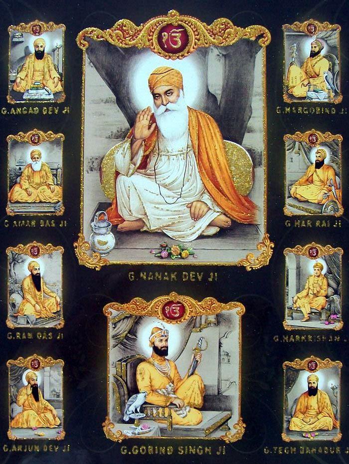 Guru Nanak Dev Waheguru Pinterest Guru Gobind Singh Guru