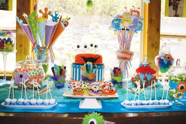 mesas para fiestas infantiles