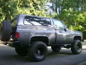 4 Inch Lift 35x13 50 Toyo S On 15 Inch Black Steel Wheels Black Steel Wheels Chevy Trucks Monster Trucks