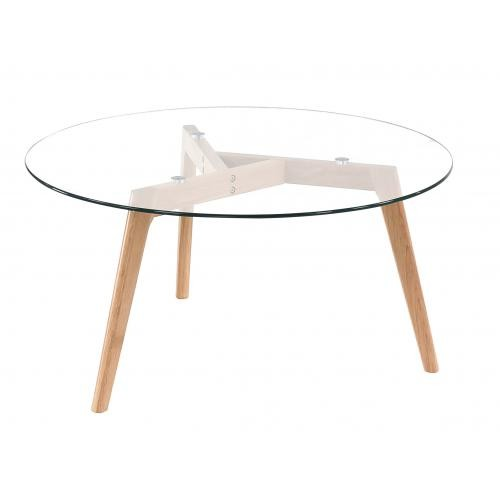 Style Scandinave 3 Suisses En 2020 Table Basse Scandinave Table Basse Table Basse Ronde En Verre
