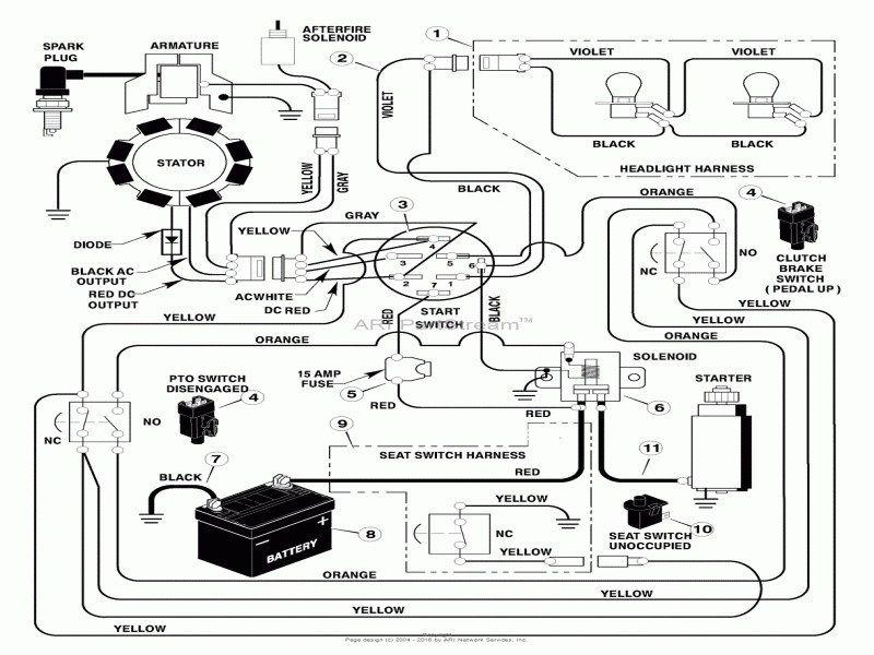 17 Hp Briggs Amp Stratton Wiring Diagram