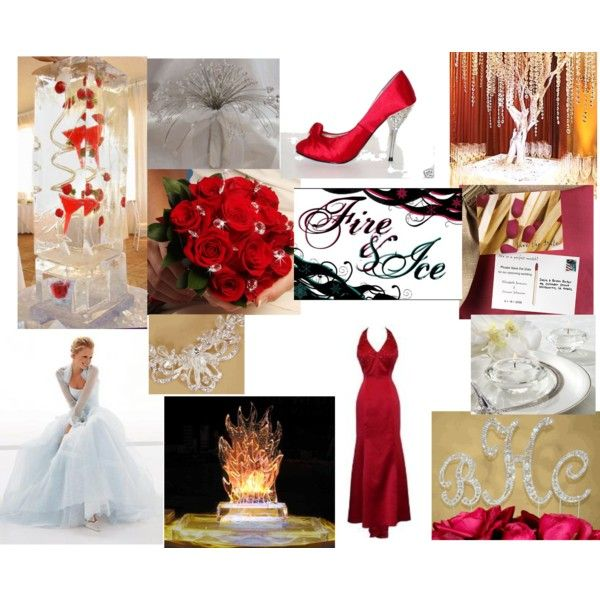 Firefighter Wedding Themes Ideas: Fire & Ice Themed Wedding