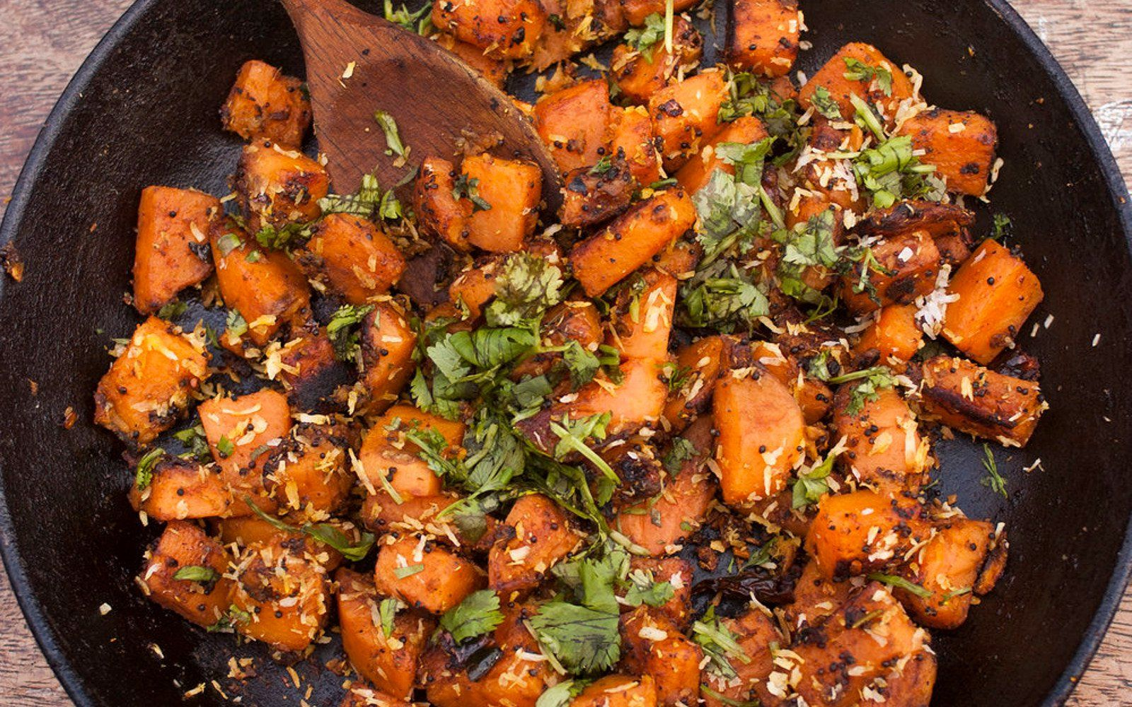 Sweet potato with tamarind and coconut vegan gluten free sweet potato with tamarind and coconut vegan gluten free indian foodsindian recipesvegan rawvegan forumfinder Images