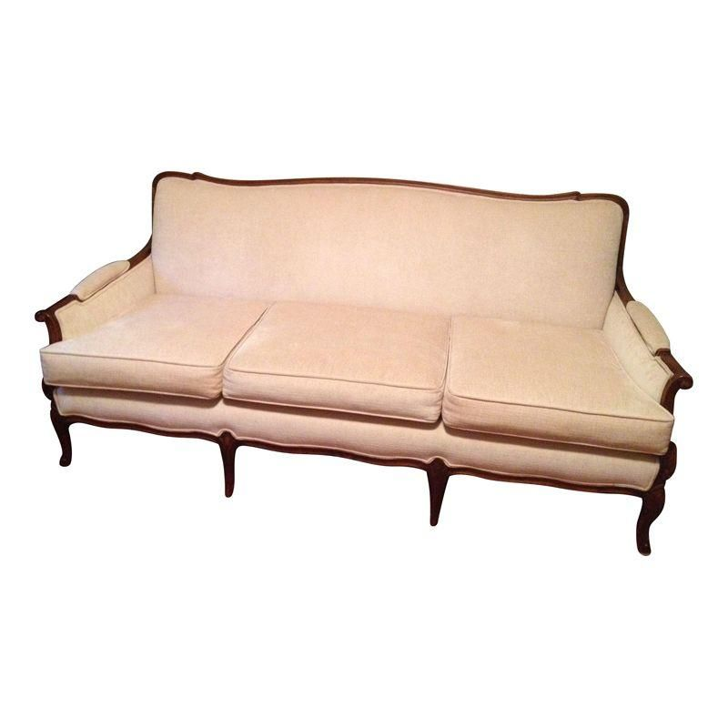 Newly Reupholstered Three Cushion Camelback Sofa Soft Beige Fabric Means This Will Be An Easy Fit In Any Room Hepplewhit With Images Sofa Florida Room Decor Classic Sofa