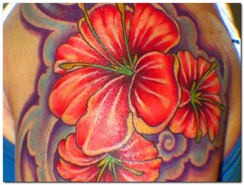 Fiori Hawaiani Tattoo.Hibiscus Tattoo Tatuaggi