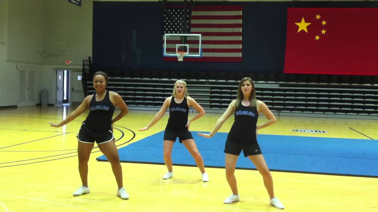 2012 ascc kids college cheer camp dance routine ages 56
