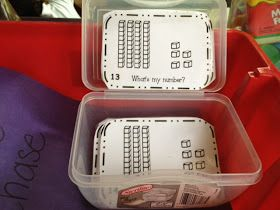 Pocket Full of Kinders!: As Promised a Peek at My Week: Math Centers