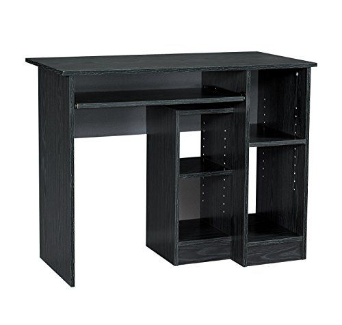 Mylex Computer Desk 395 W X 195 D X 3018 Inches Black Assembly Required 43254 Click On The Image For Additional Det Desk Computer Desk Walmart Computer Desk