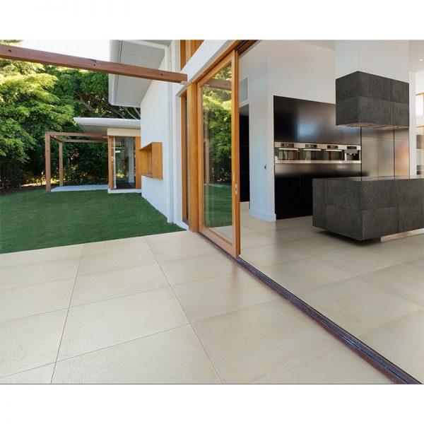 Uptown White floor 41 x 41 Style tile, Flooring, White