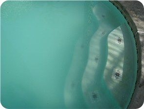 How to clear cloudy pool water pool swimming pool - How to clear green swimming pool water ...