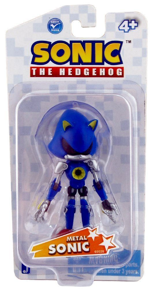 """Kids Play With Sonic Exe Toys And Super Sonic Exe Toys: Sonic The Hedgehog Classic Metal Sonic 3"""" Action Figure"""