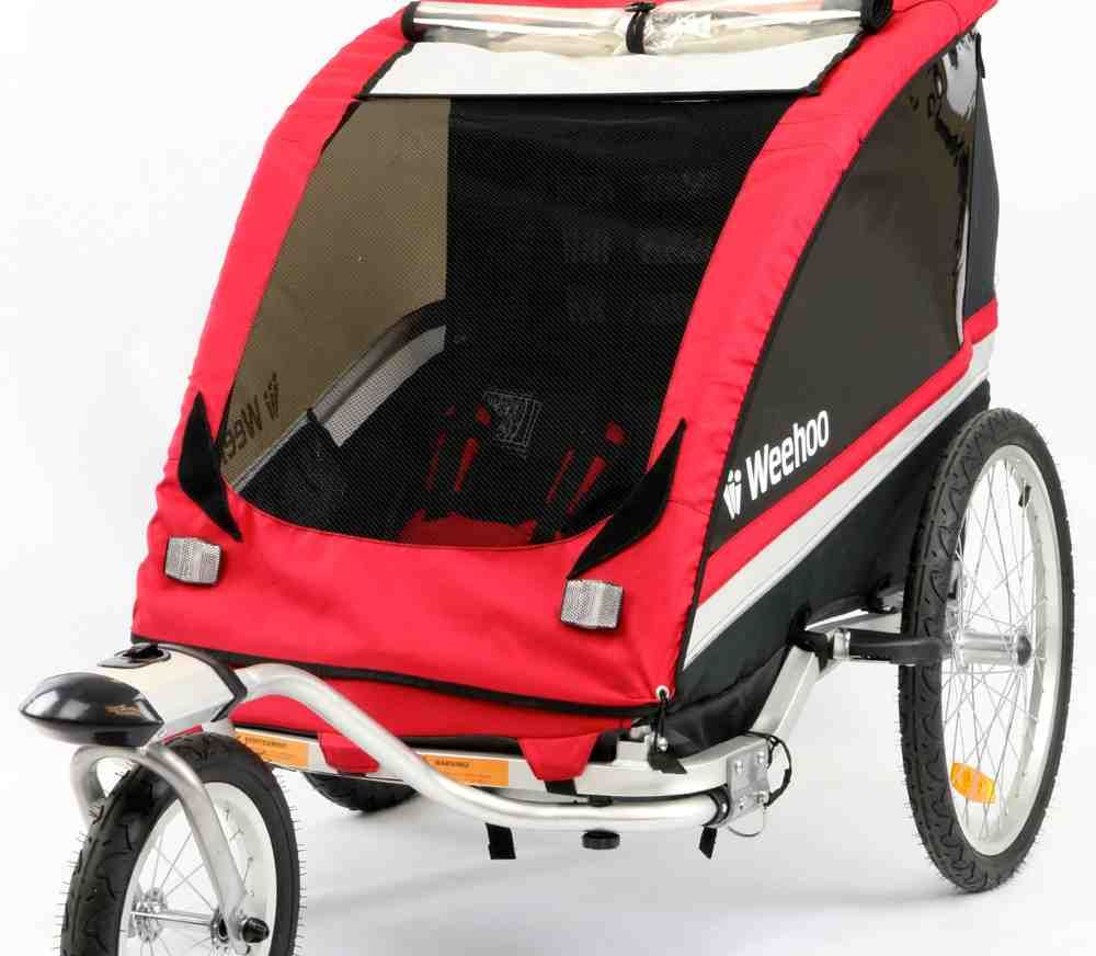 Two Child Bike Trailer Child bike trailer, Bike trailer