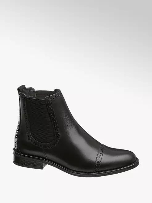 Czarne Botki Damskie 5th Avenue Z Kolekcji Tylko Online Deichmann Com Chelsea Boots Boots Ankle Boot