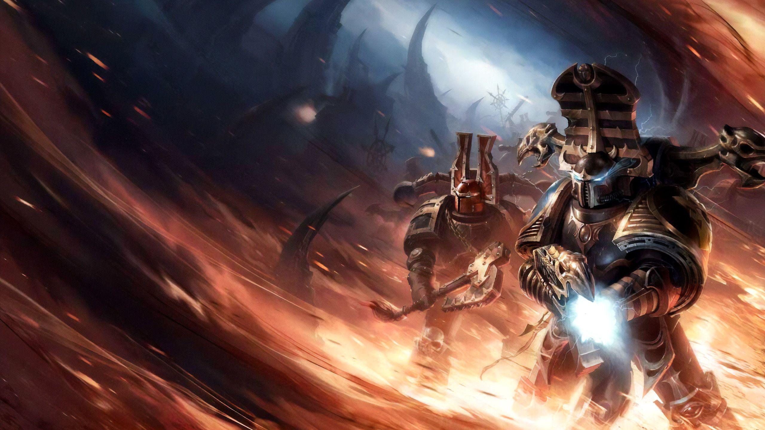 Pin By Lars Keen On Heretical Astartes Warhammer Art Dark