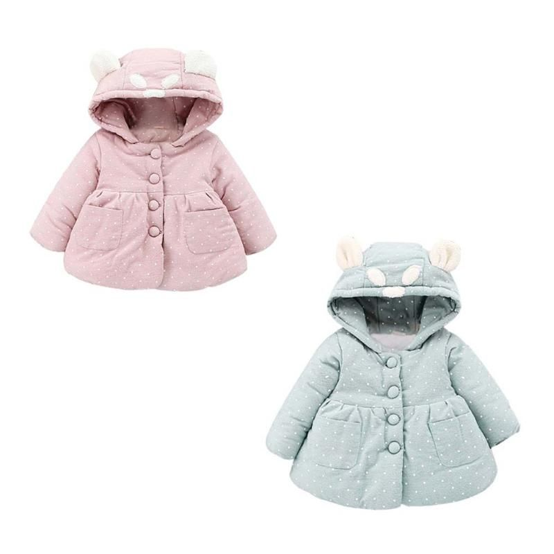 bc8ff510c Girls Winter Jackets Boys Cartoon Rabbit Style Girl Fashion ...
