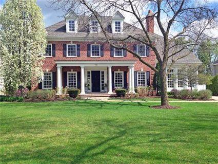A Beautiful Authentic Georgian Home In Illinois Georgian Homes