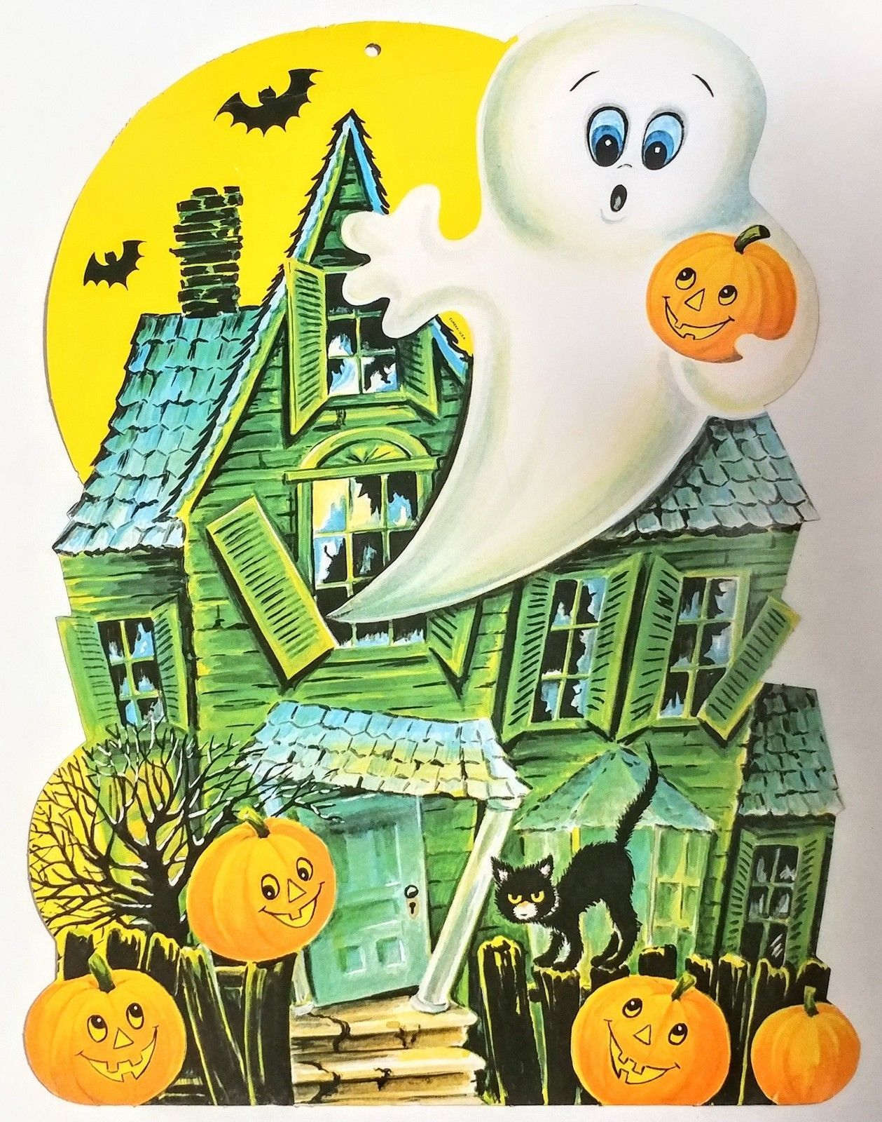 Cute Vintage Halloween Card Halloween Halloweendeko Halloween Deko