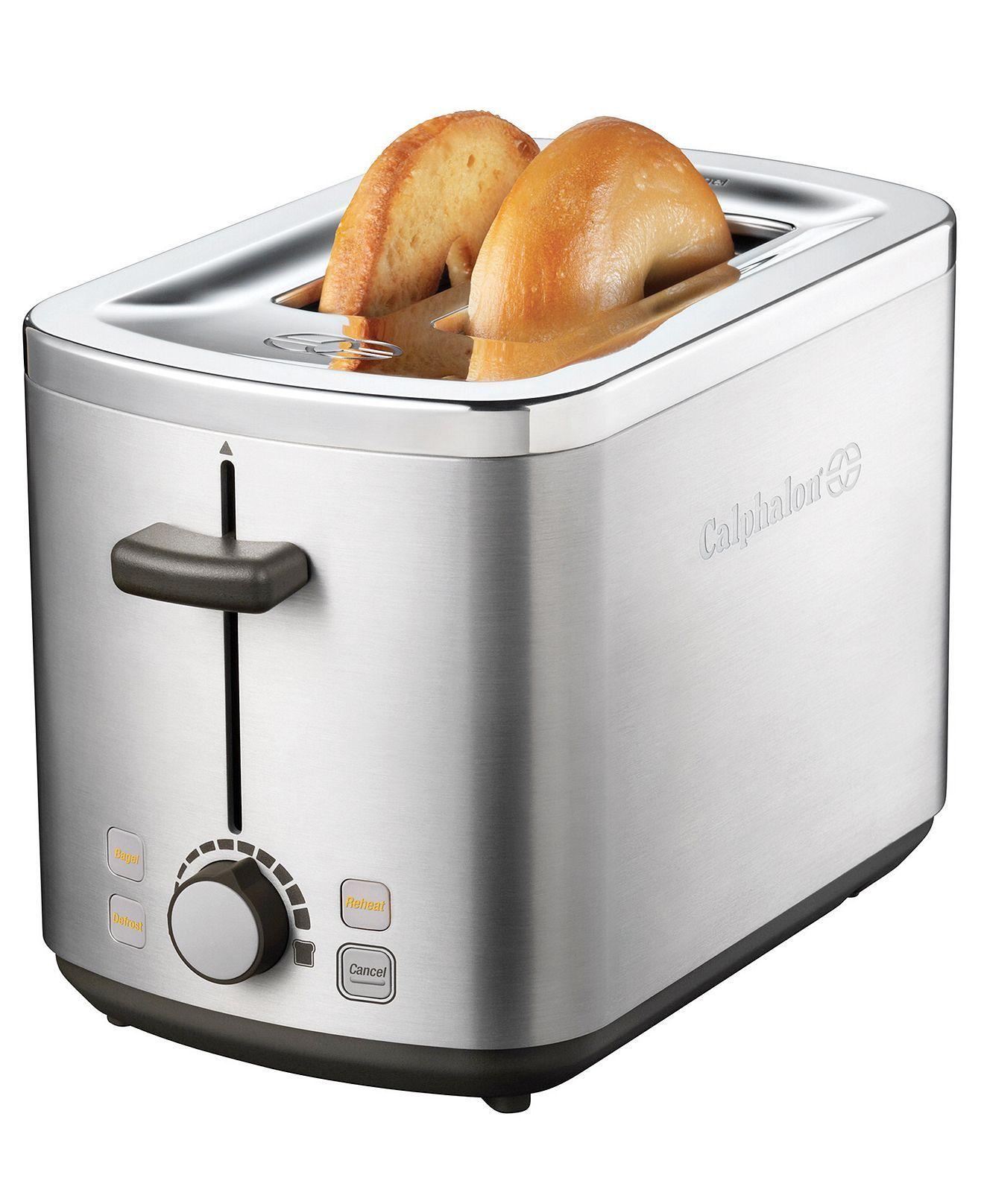 calphalon 2 slice toaster electrics kitchen macy s