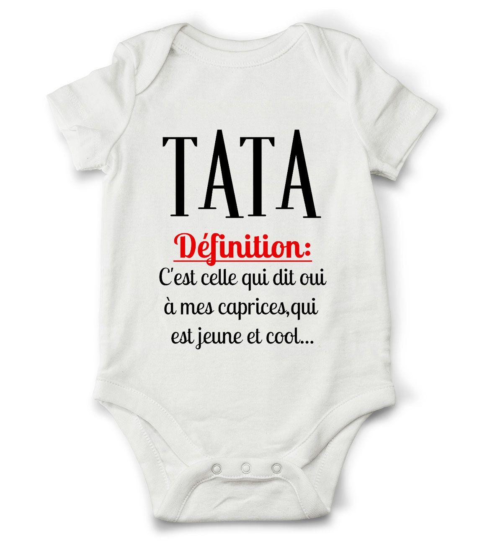 313d2907ffc53 Body grenouillère définition de tata...   Mode Bébé par creatike Cadeau  Bébé Garçon