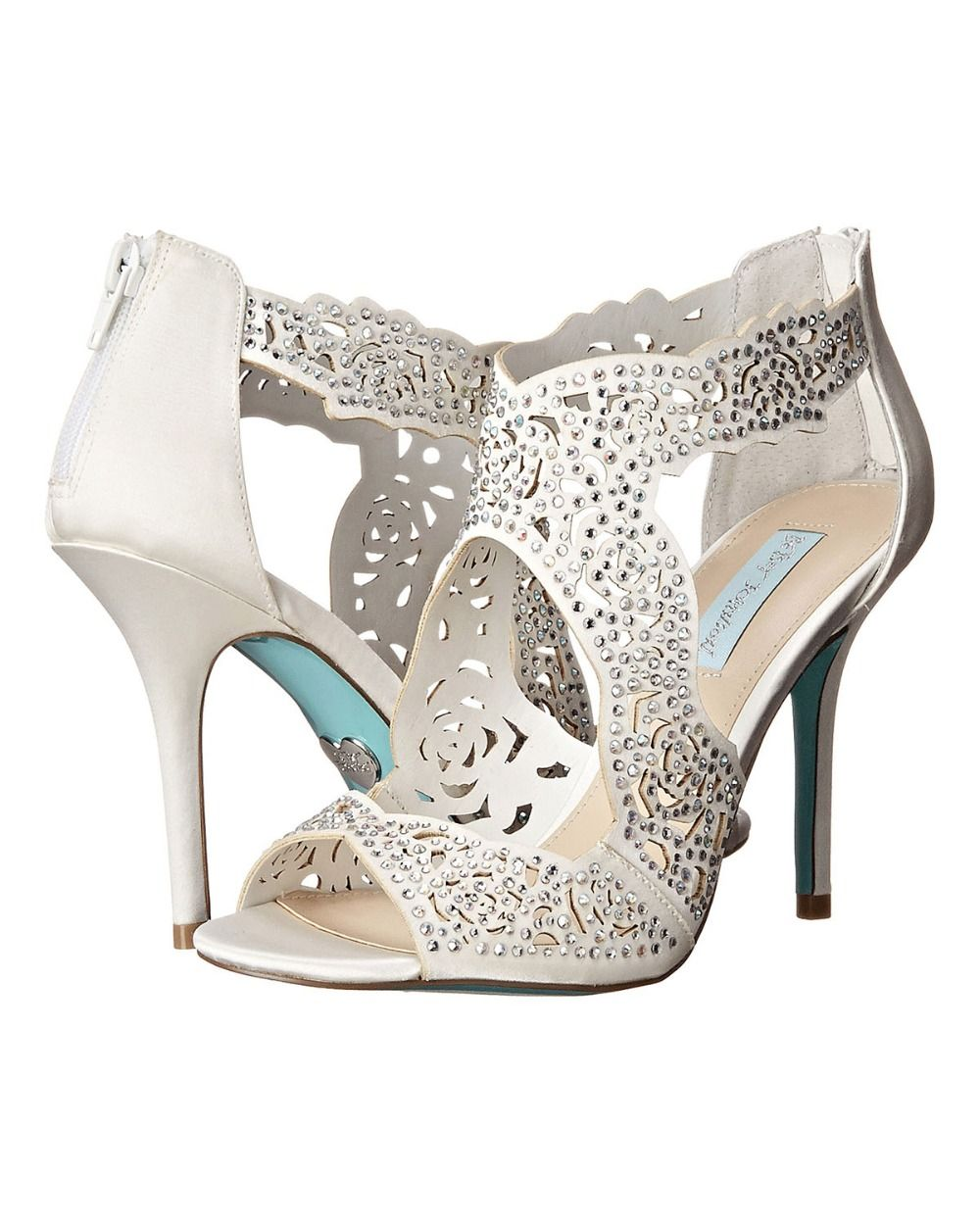betsey johnson wedding shoes ivory
