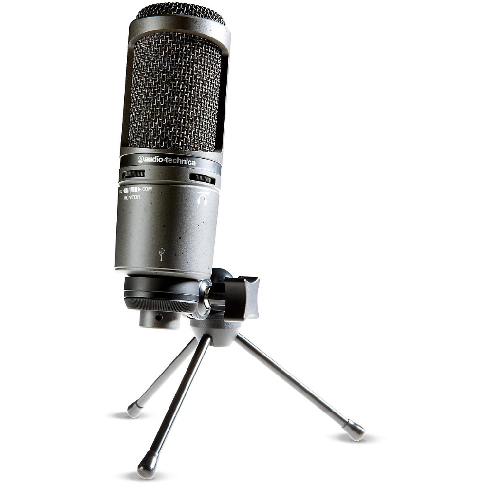 Audio Technica At2020usb Side Address Cardioid Condenser Usb Microphone Usb Microphone Audio Technica Microphone
