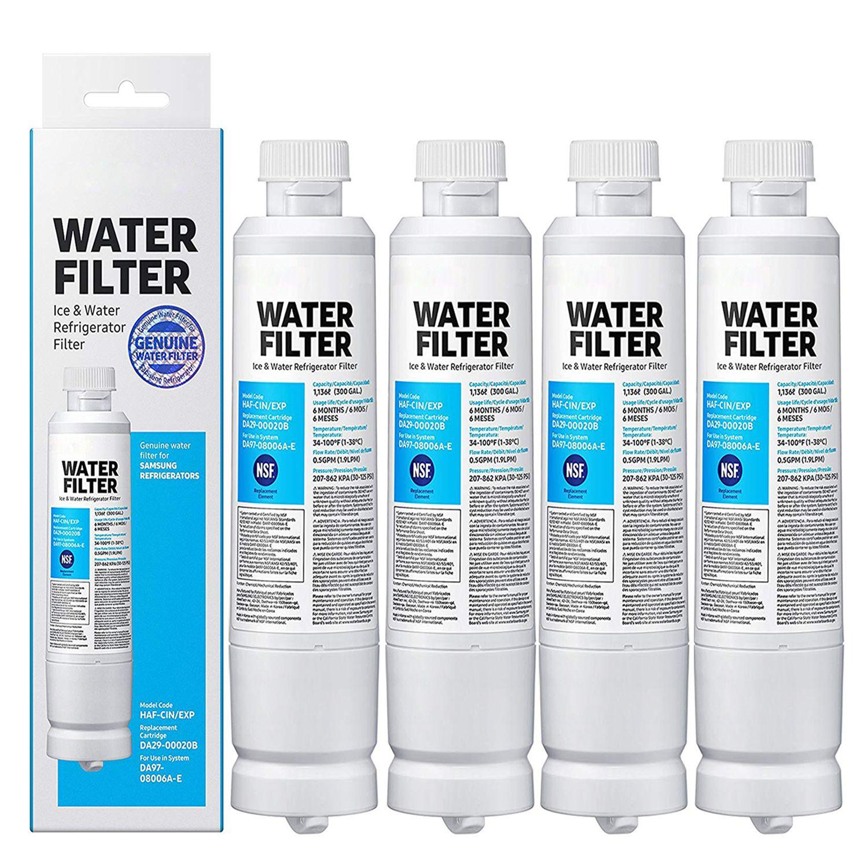 New Da29 00020b Refrigerator Water Filter Replacement For Samsung Da29 00020b Da29 00020a Haf Cin Exp 46 9101 Water Filter Refrigerator Water Filter Filters