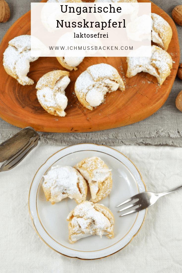 Ungarische Nusskrapferl - luftig und lecker - Ich muss backen #mexicanfoodrecipes