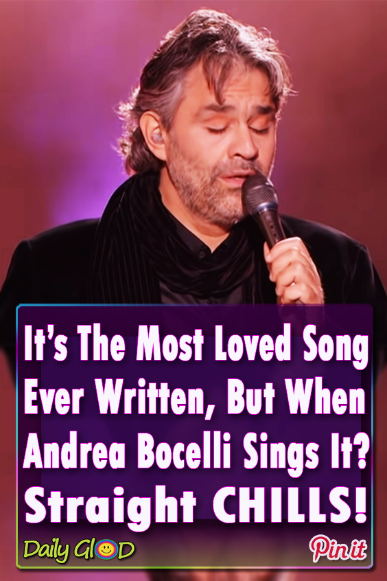 When Andrea Bocelli Sings This Legendary Song Its Something You Just Cant Miss Wonderful Andreabocelli Song Music Classic Oldies Music Songs Music Sing
