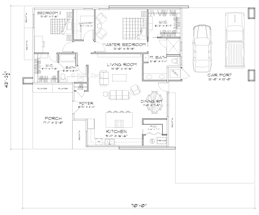The Ballard Energy Efficient Floor Plan Energy Efficient House Plans Floor Plans Modern Small House Design