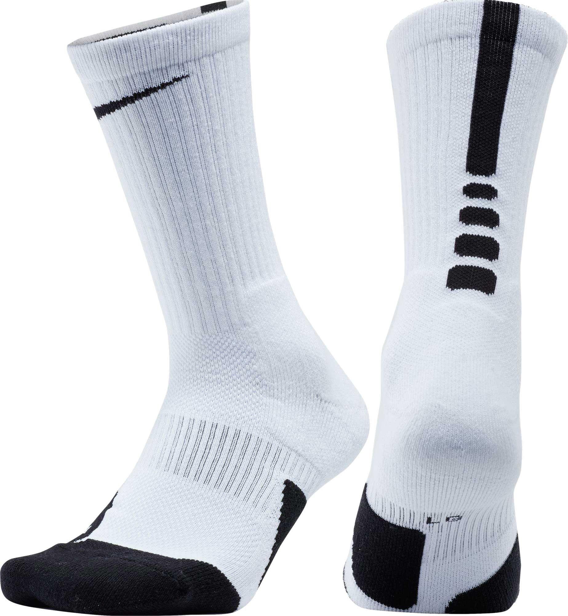 Nike Dry Elite 1 5 Crew Basketball Socks Nike Basketball Socks White Nike Socks Basketball Socks