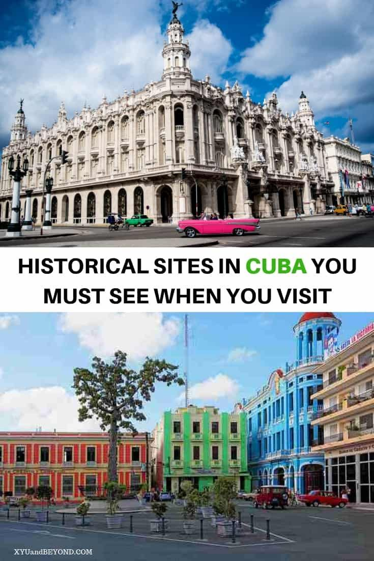Outstanding Historical places to visit in Cuba #historyofcuba Love history then you need to visit Cuba, Historical sites in Cuba to see when you visit | Cuba for History Buffs #Cuba #history #Caribbean #Cubanhistory #visitcuba