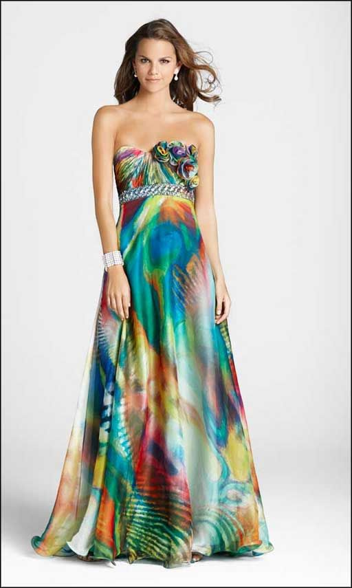 Affordable Formal Dresses for Women | colorful affordable evening ...